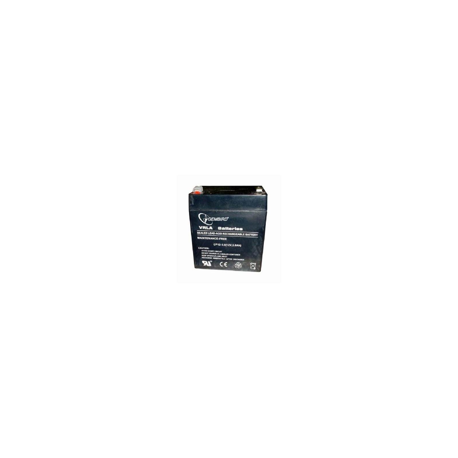 Батарея к ИБП GEMBIRD 12В 5 Ач (BAT-12V5AH)