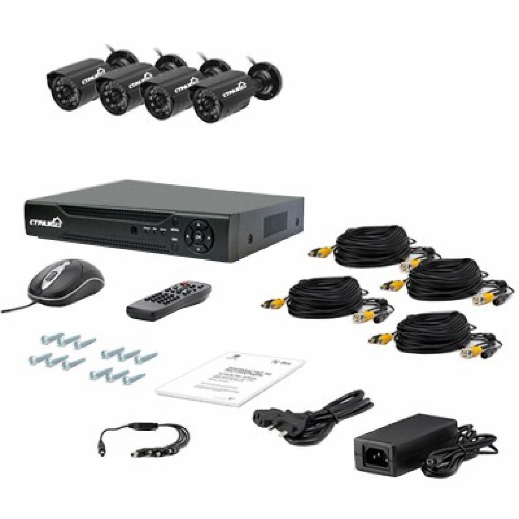 Комплект видеонаблюдения Страж Контрол 4У