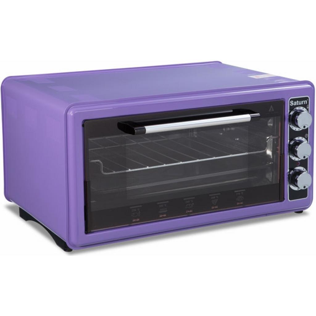 Электропечь SATURN ST-EC1077 Violet
