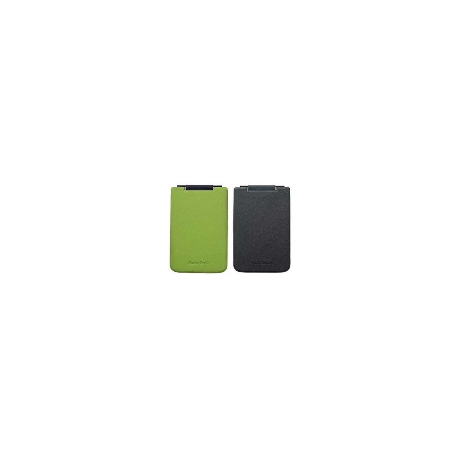 Чехол для электронной книги PocketBook PB624 Flip green/black (PBPUC-624-GRBC-RD) изображение 2