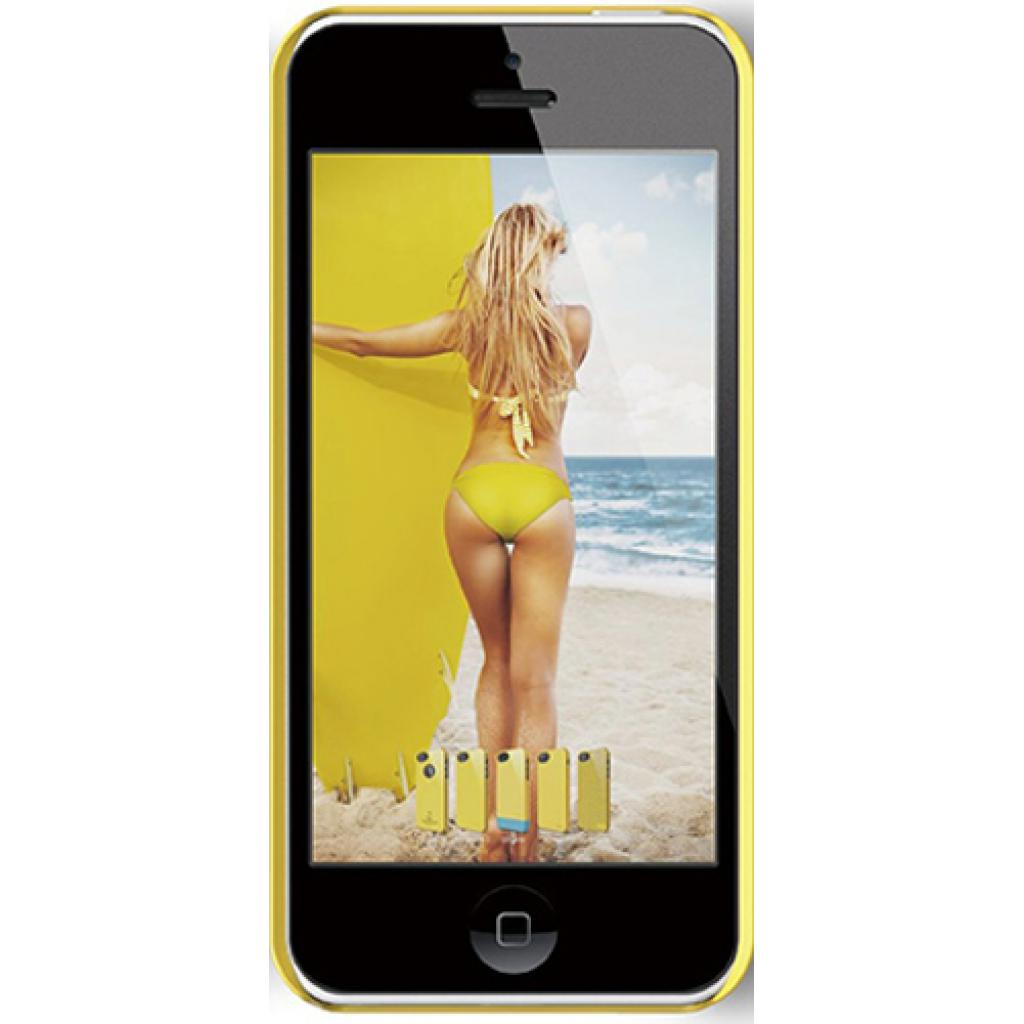 Чехол для моб. телефона ELAGO для iPhone 5C /Outfit MATRIX Aluminum/Yellow (ES5COFMX-YEYE-RT) изображение 1
