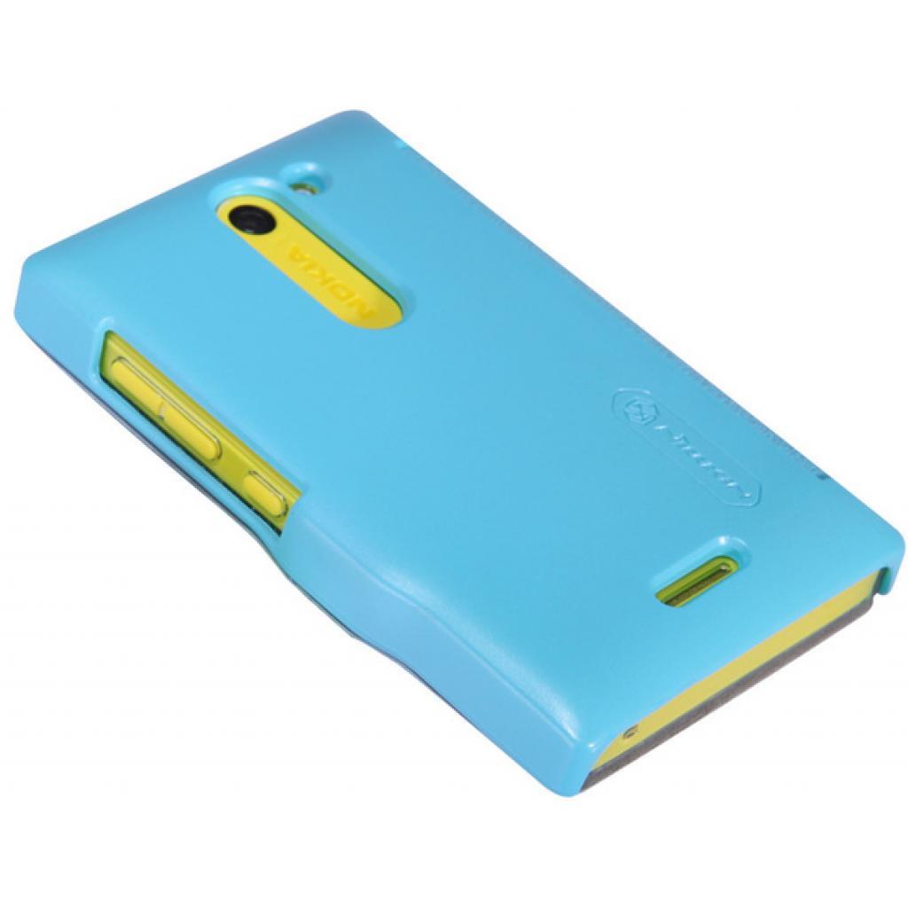Чехол для моб. телефона NILLKIN для Nokia 502 /Fresh/ Leather/Blue (6120394) изображение 3