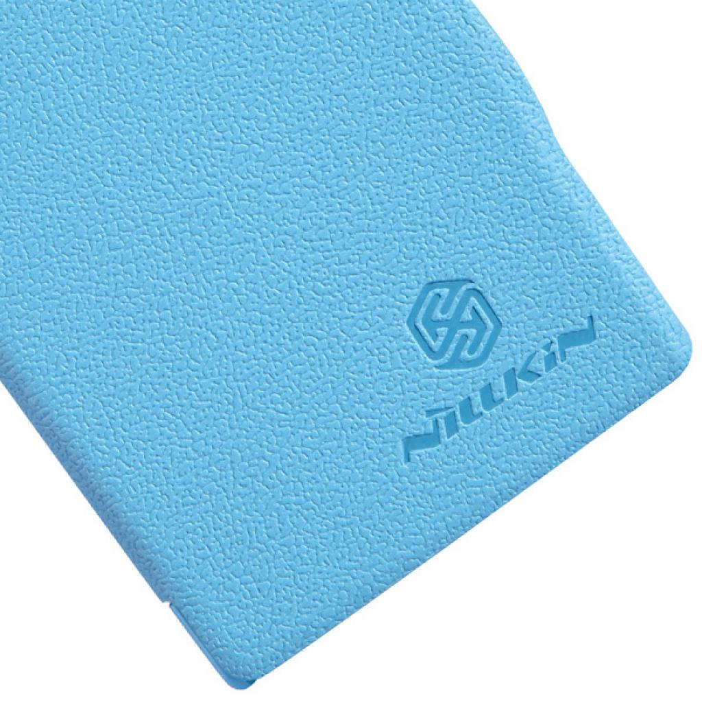 Чехол для моб. телефона NILLKIN для Nokia 502 /Fresh/ Leather/Blue (6120394) изображение 5