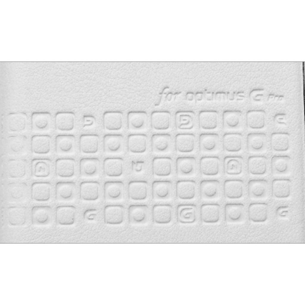 Чехол для моб. телефона VOIA для LG E988 Optimus G Pro /Flip/White (6068262) изображение 3