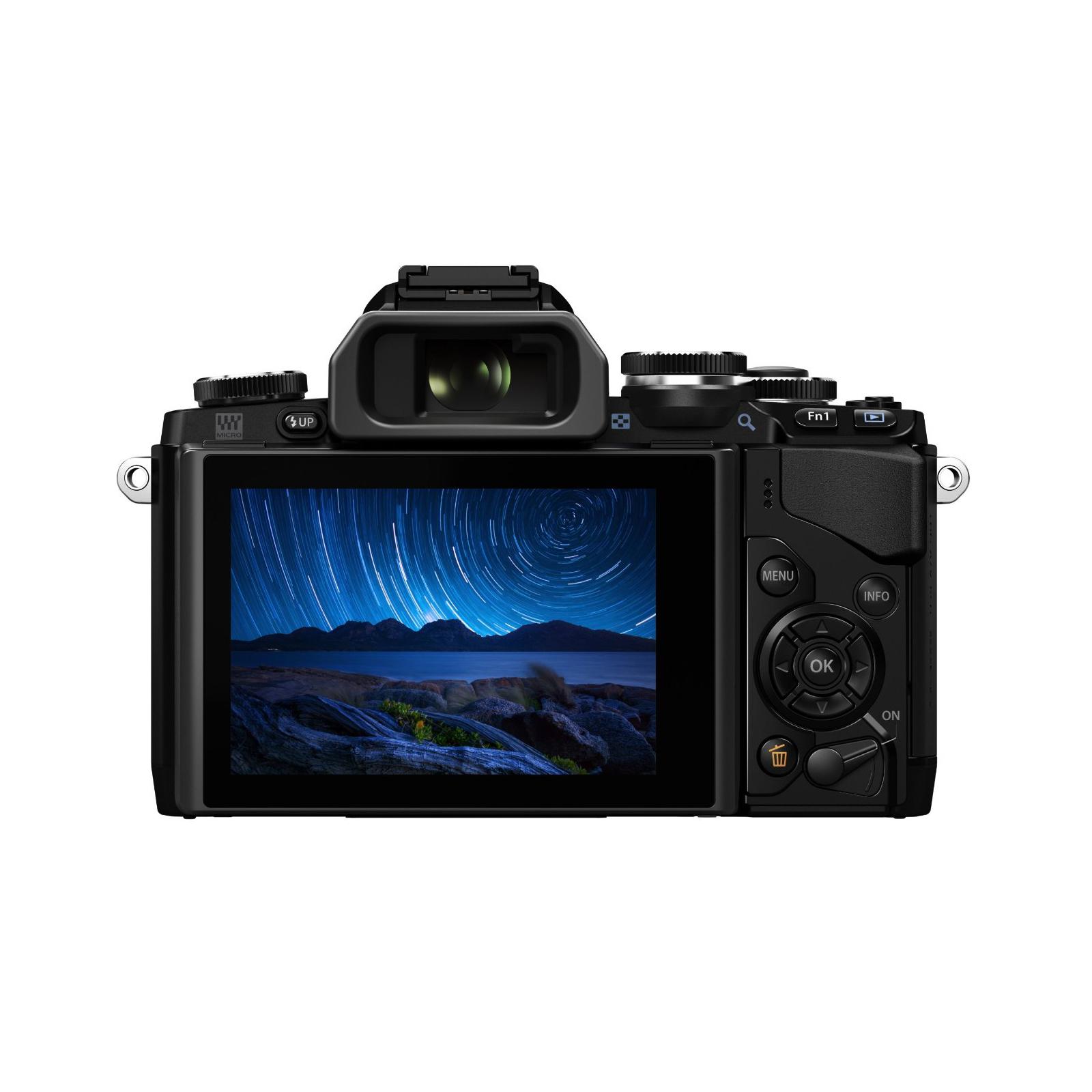 Цифровой фотоаппарат OLYMPUS E-M10 pancake zoom 14-42 Kit black/black (V207023BE000) изображение 3