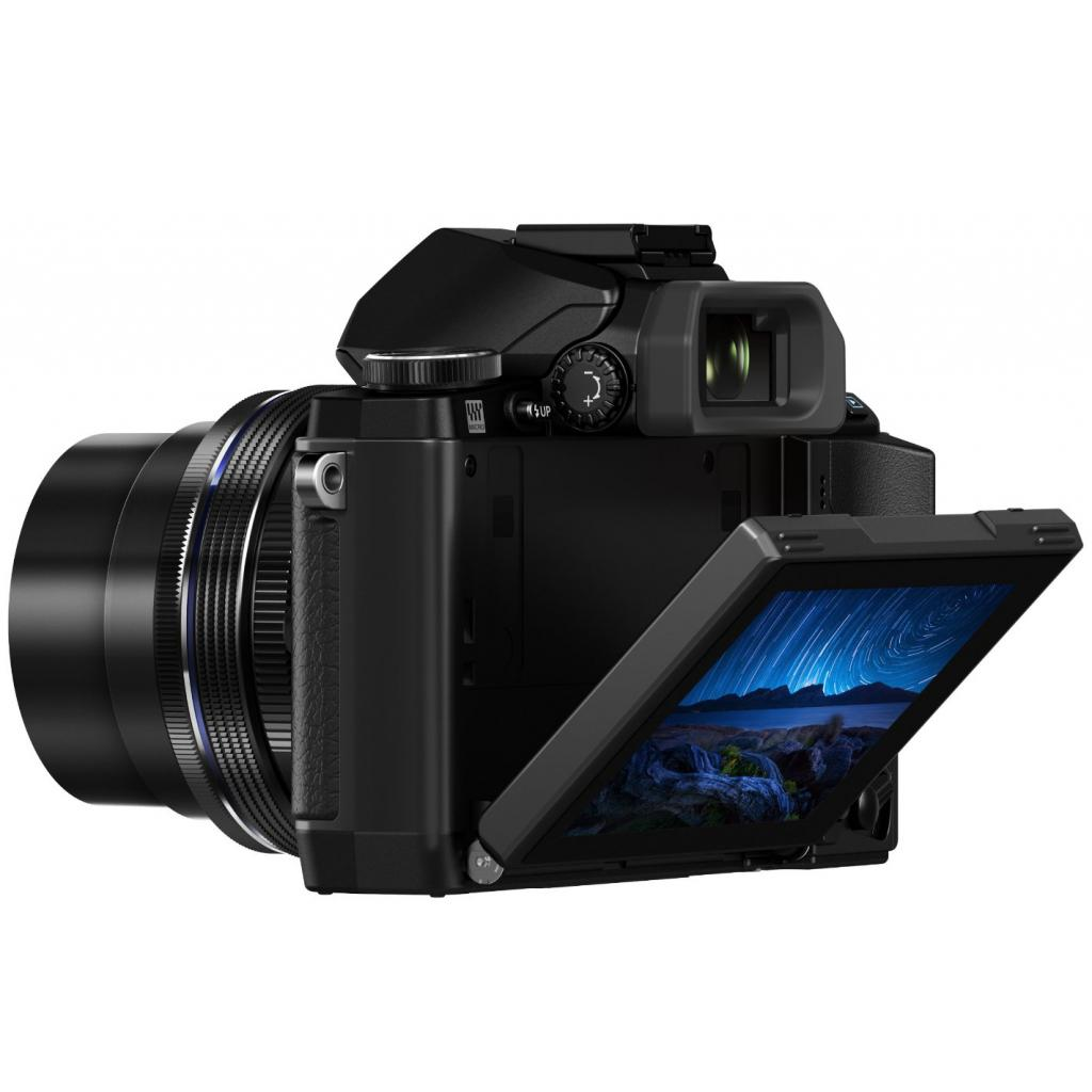 Цифровой фотоаппарат OLYMPUS E-M10 pancake zoom 14-42 Kit black/black (V207023BE000) изображение 4