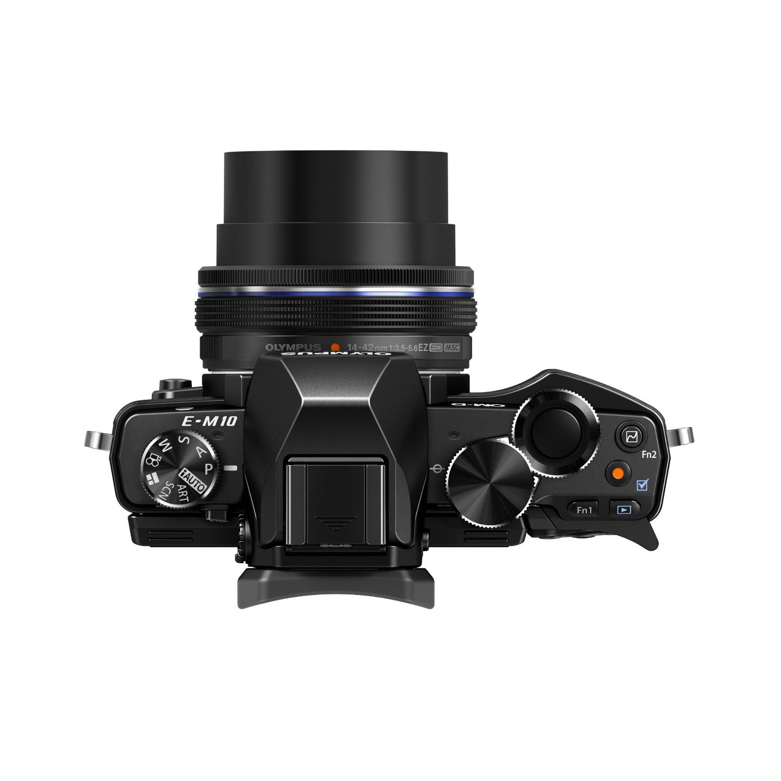 Цифровой фотоаппарат OLYMPUS E-M10 pancake zoom 14-42 Kit black/black (V207023BE000) изображение 7