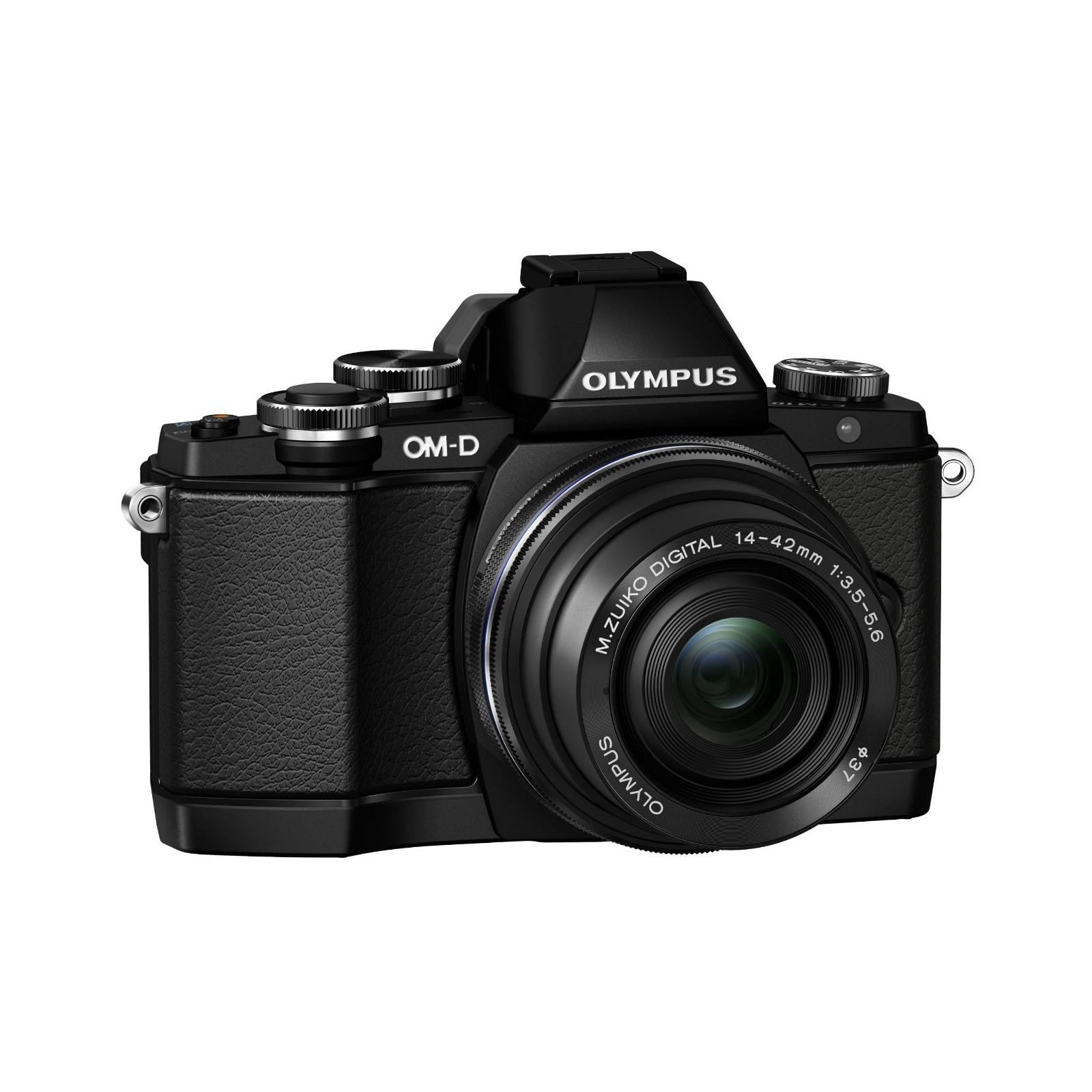 Цифровой фотоаппарат OLYMPUS E-M10 pancake zoom 14-42 Kit black/black (V207023BE000) изображение 8