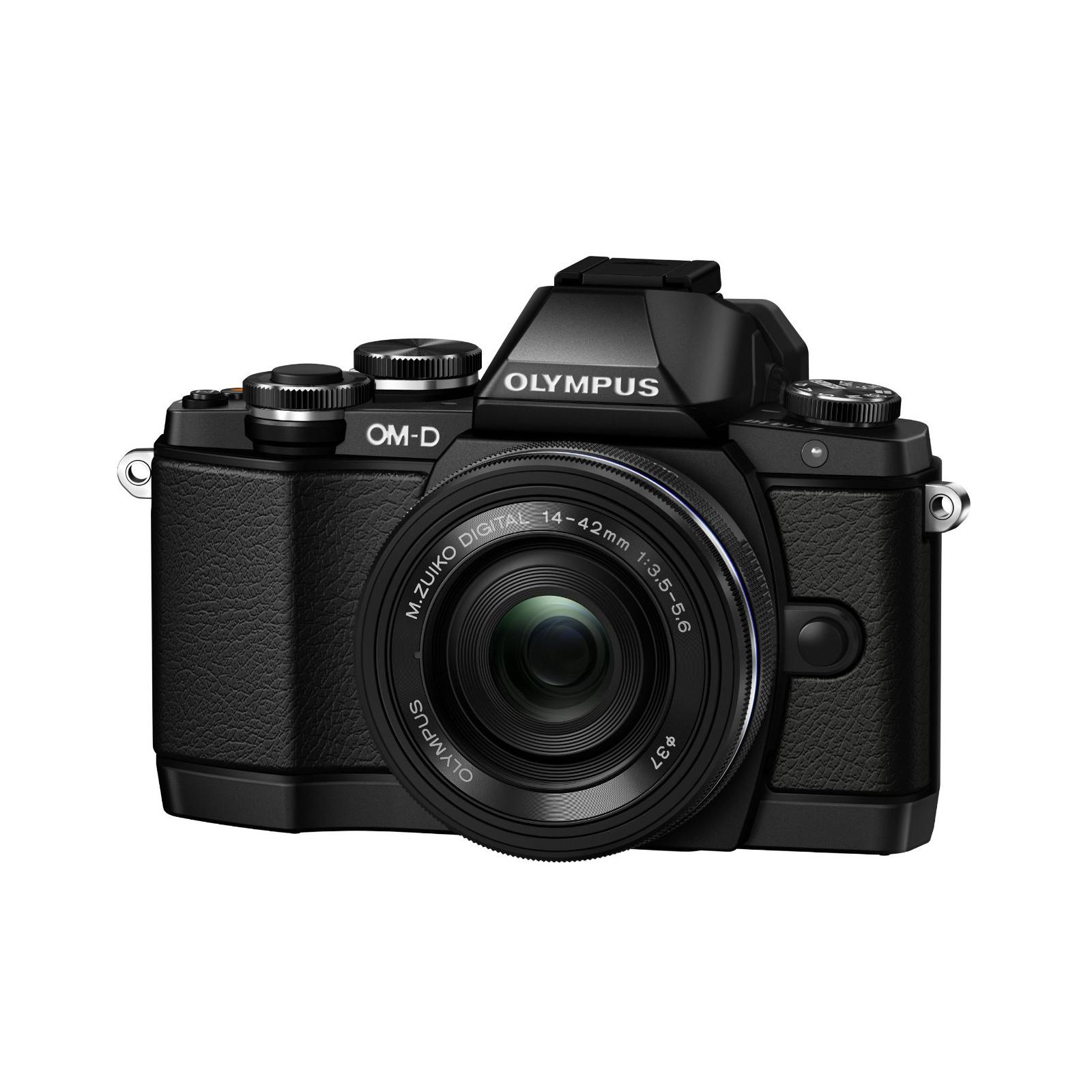 Цифровой фотоаппарат OLYMPUS E-M10 pancake zoom 14-42 Kit black/black (V207023BE000)