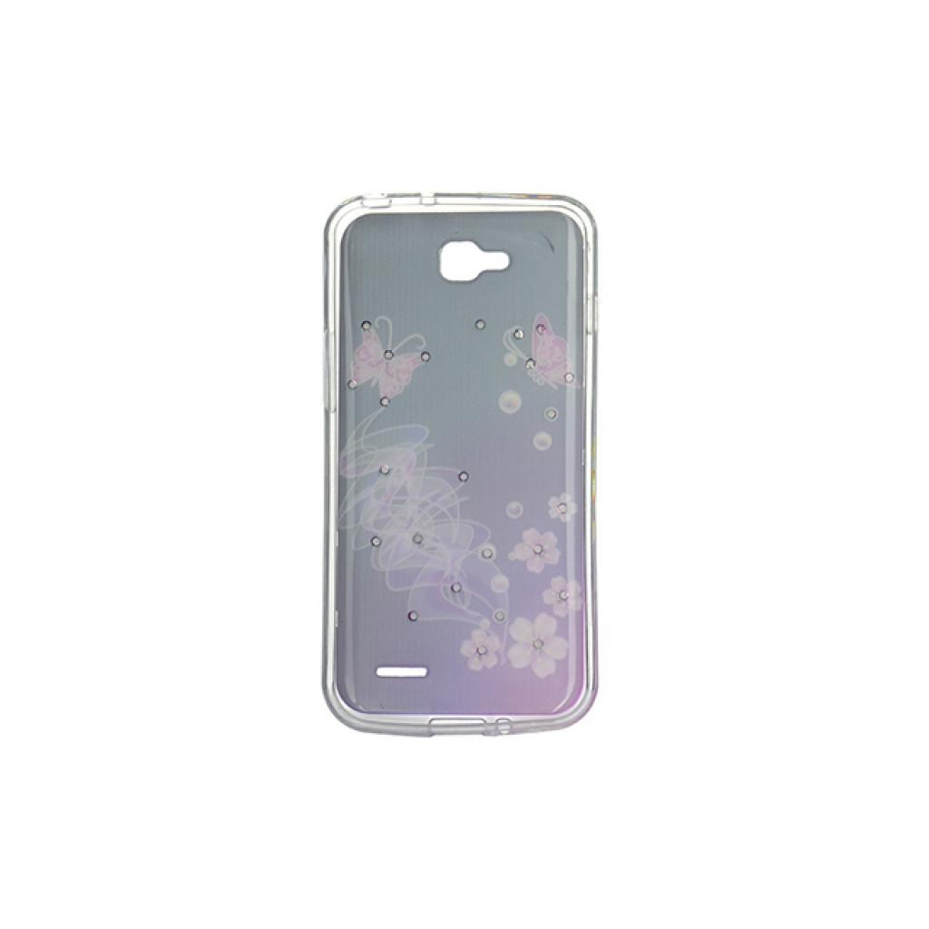 Чехол для моб. телефона для LG L90 (D405) (Violet/Black) Cristall PU Drobak (211599) изображение 2
