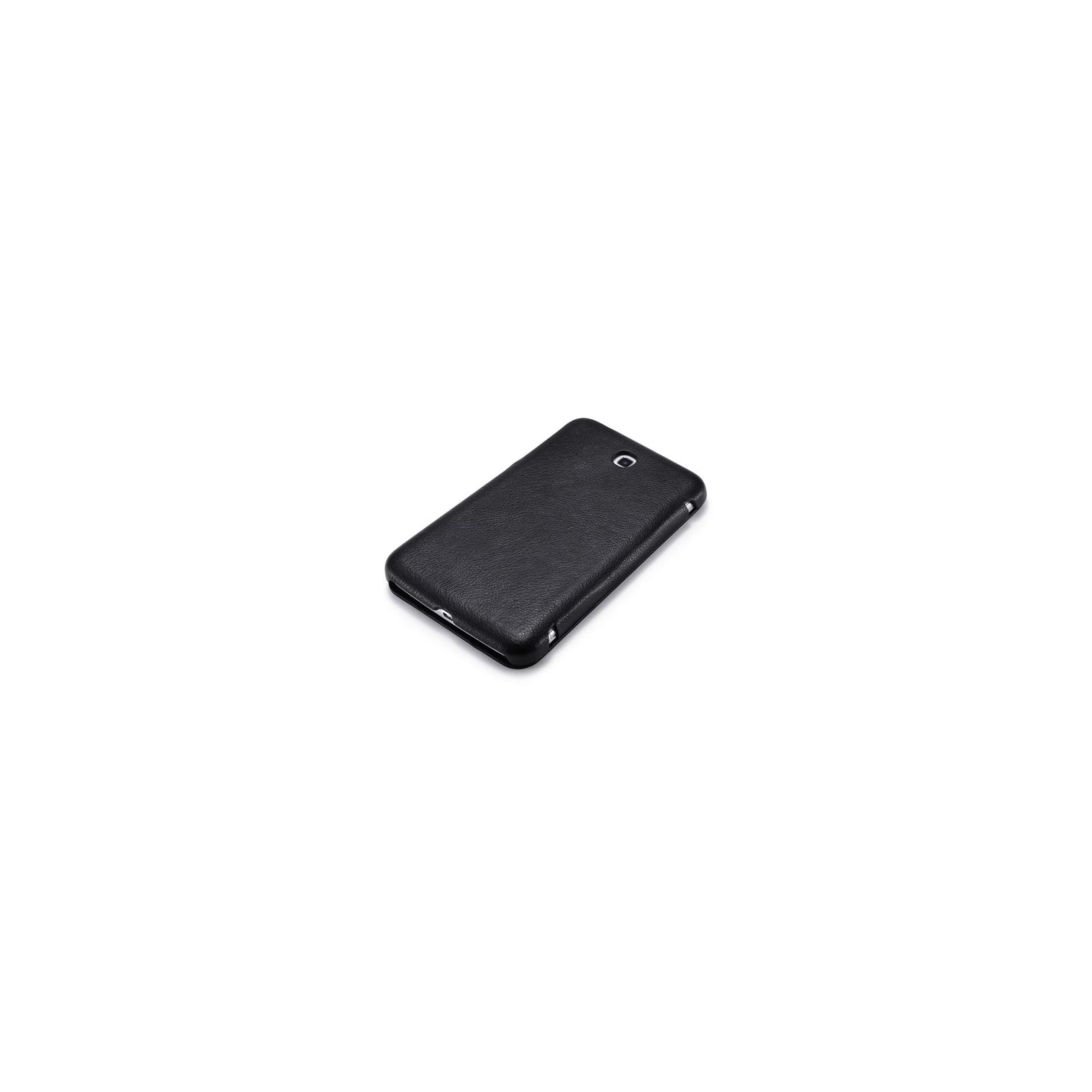 "Чехол для планшета i-Carer 7"" Samsung Galaxy Tab 3 7.0 T2100/P3200 шкіряний (RS320001 Black) изображение 3"