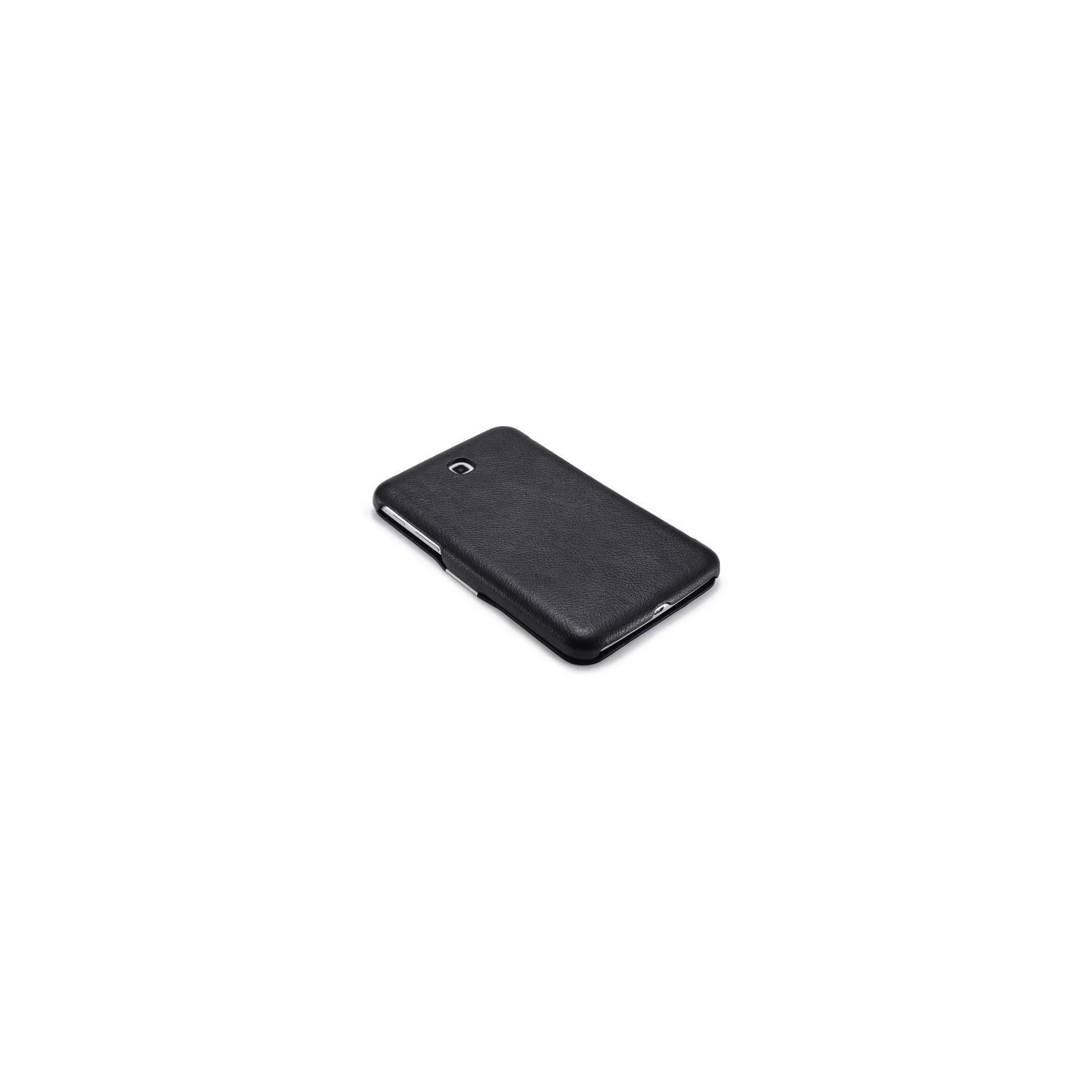 "Чехол для планшета i-Carer 7"" Samsung Galaxy Tab 3 7.0 T2100/P3200 шкіряний (RS320001 Black) изображение 4"