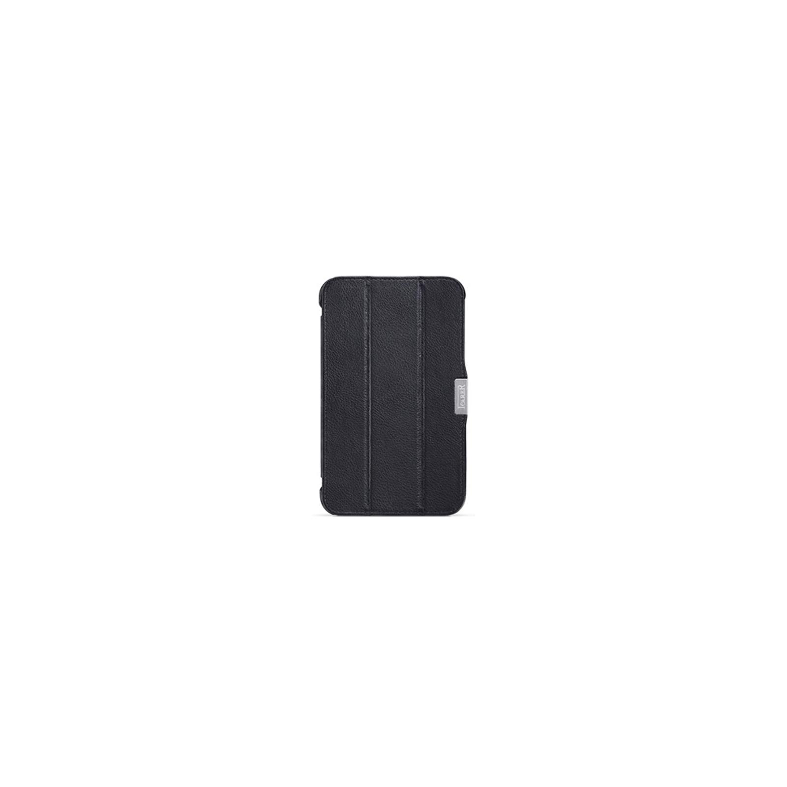 """Чехол для планшета i-Carer 7"""" Samsung Galaxy Tab 3 7.0 T2100/P3200 шкіряний (RS320001 Black)"""