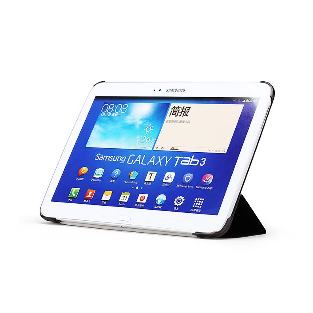 "Чехол для планшета Rock Samsung Galaxy Tab3 10,1"" new elegant series black (P5200-40537) изображение 3"
