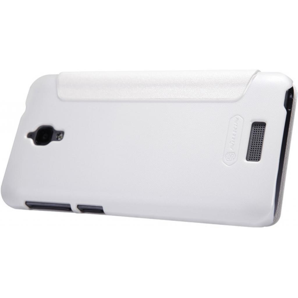 Чехол для моб. телефона NILLKIN для Lenovo S660 /Spark/ Leather/White (6164336) изображение 2