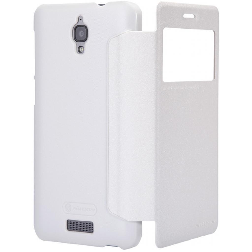 Чехол для моб. телефона NILLKIN для Lenovo S660 /Spark/ Leather/White (6164336) изображение 3