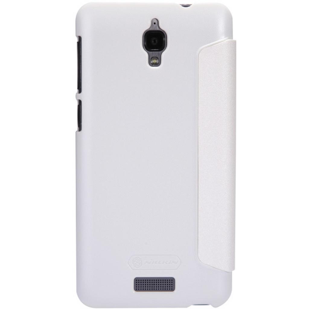 Чехол для моб. телефона NILLKIN для Lenovo S660 /Spark/ Leather/White (6164336) изображение 4