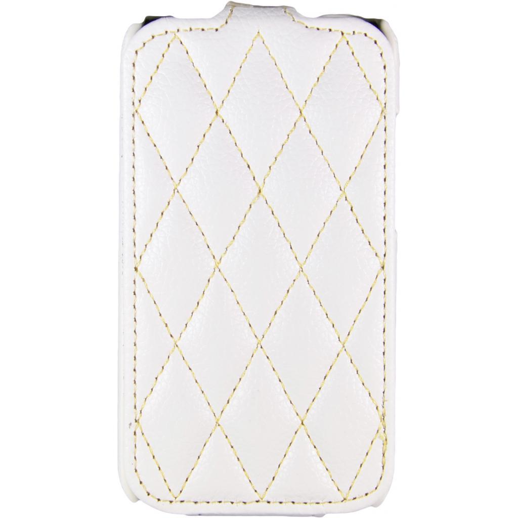 Чехол для моб. телефона Carer Base для Lenovo 316i white grid (Carer Base lenovo316iw gr)