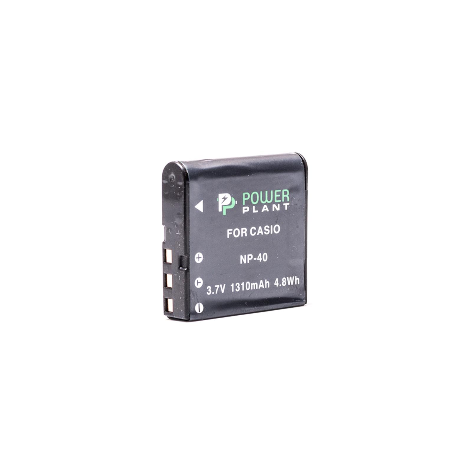 Аккумулятор к фото/видео PowerPlant Casio NP-40 (DV00DV1044)