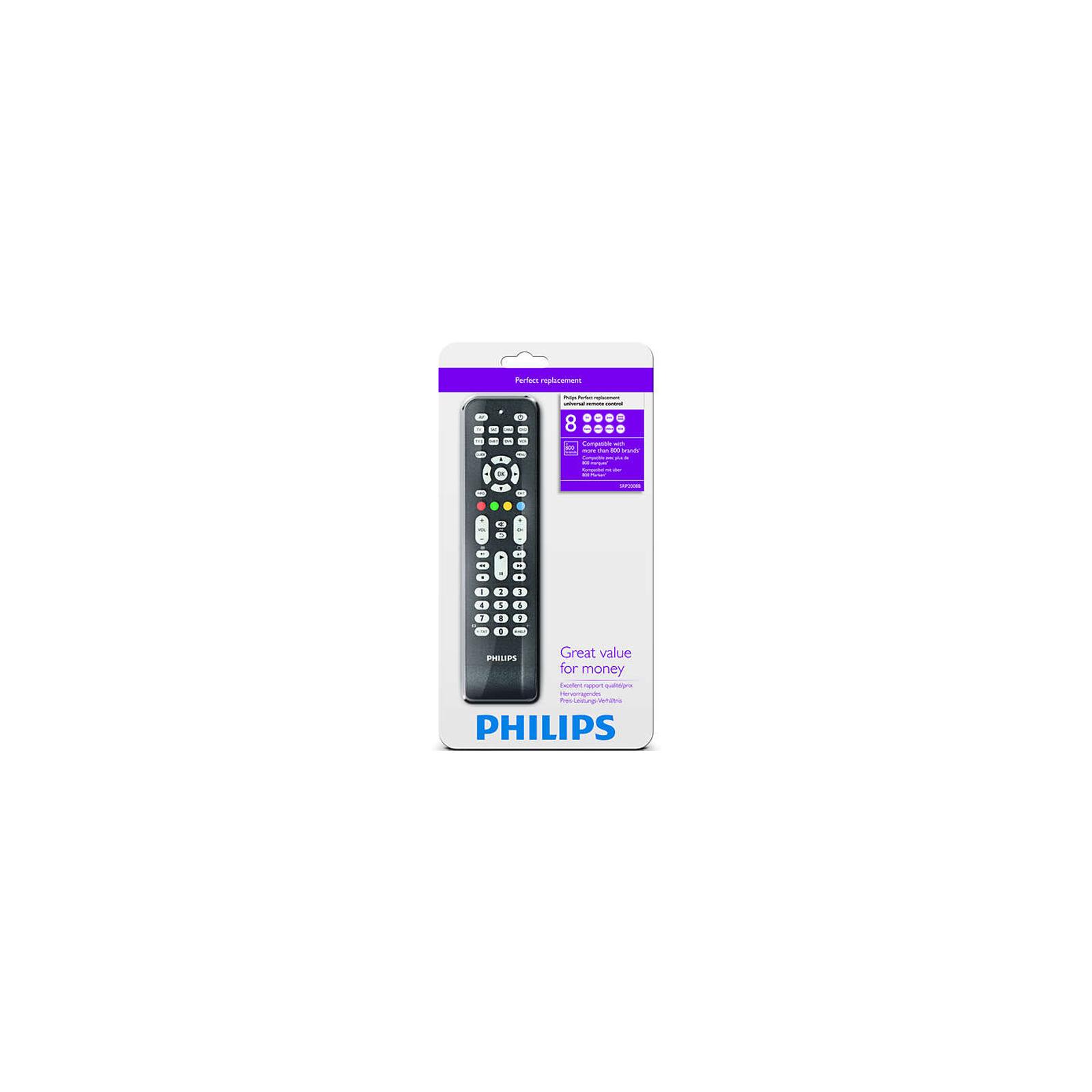Пульт ДУ для телевизора PHILIPS SRP2008B (SRP2008B/86) изображение 4