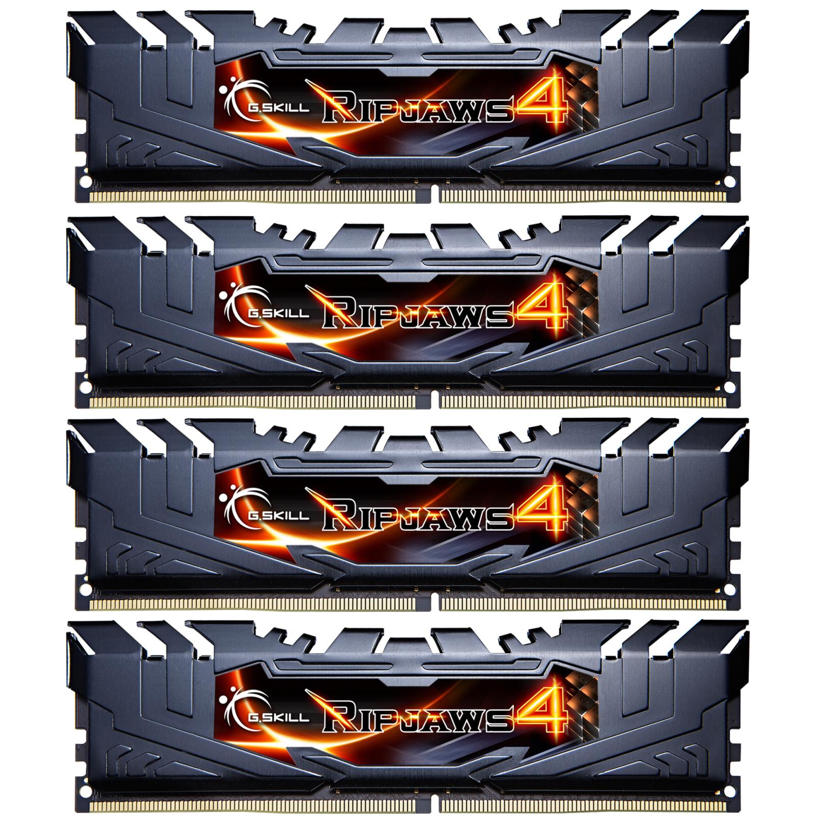 Модуль памяти для компьютера DDR4 16GB (4x4GB) 2400 MHz Ripjaws G.Skill (F4-2400C14Q-16GRK)