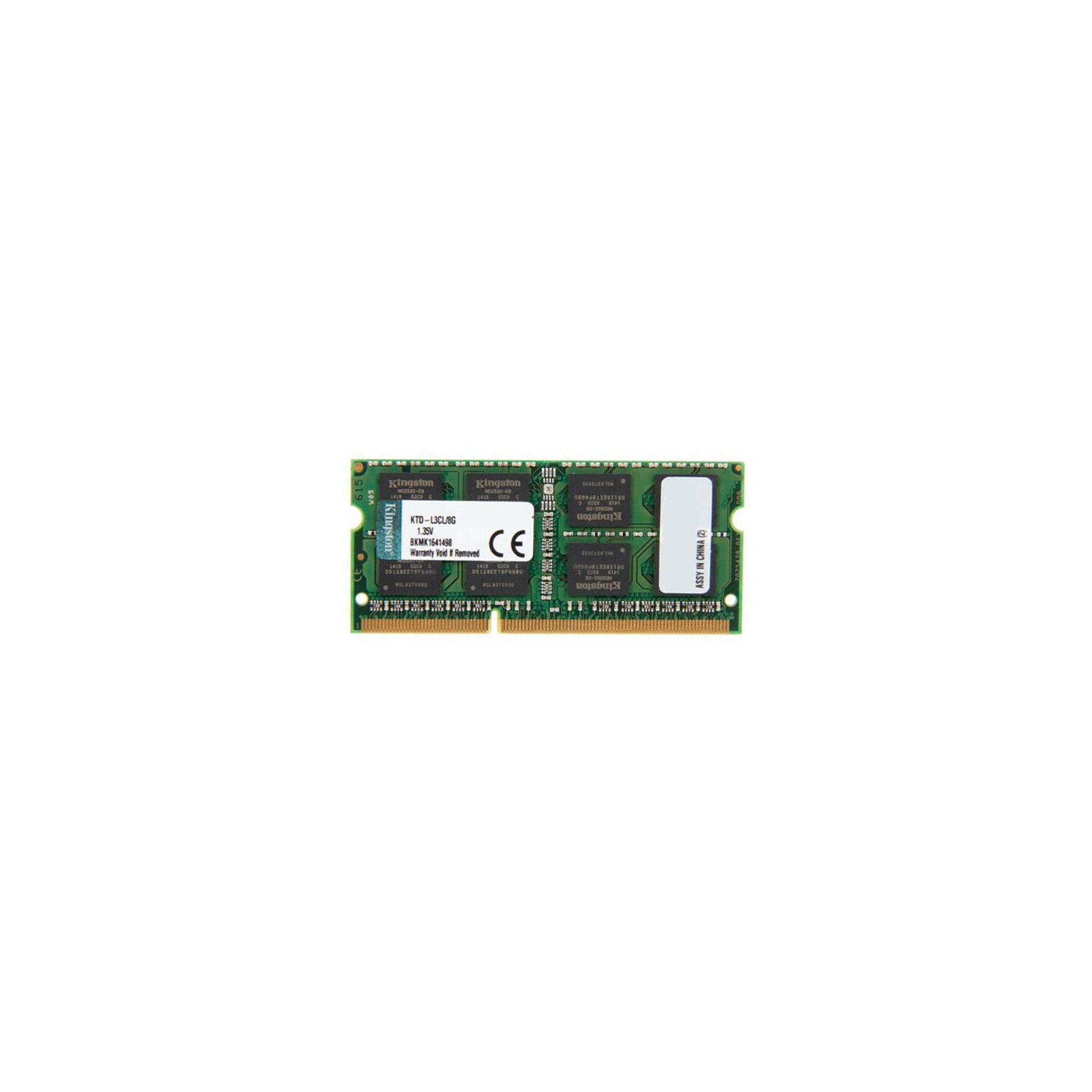 Модуль памяти для ноутбука SoDIMM DDR3 8GB 1600 MHz Kingston (KTD-L3CL/8G)
