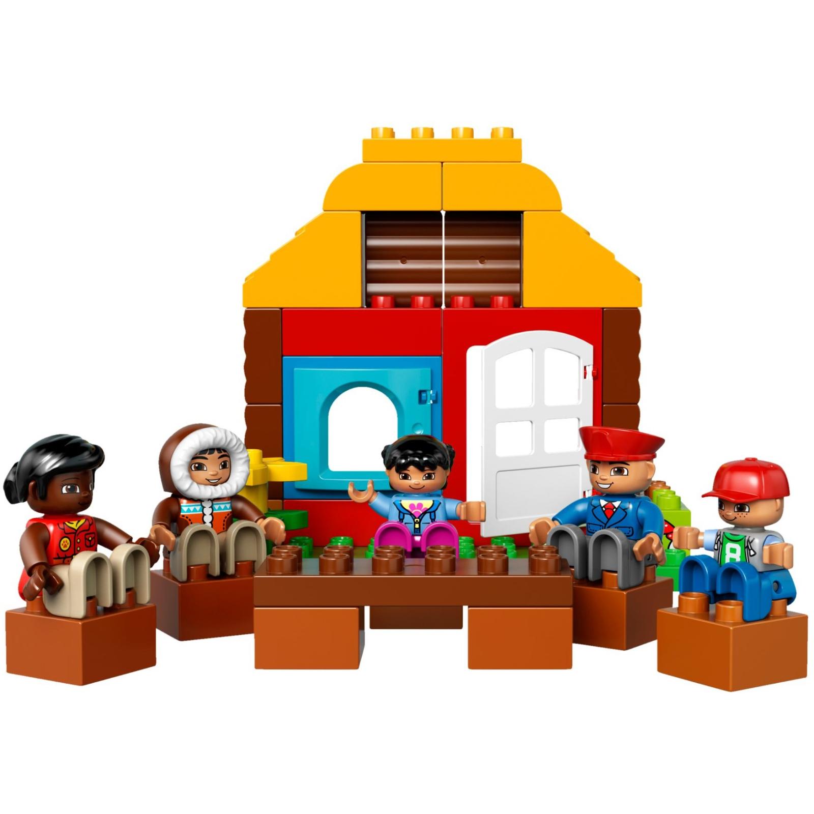 Конструктор LEGO Duplo Town Вокруг света (10805) изображение 3