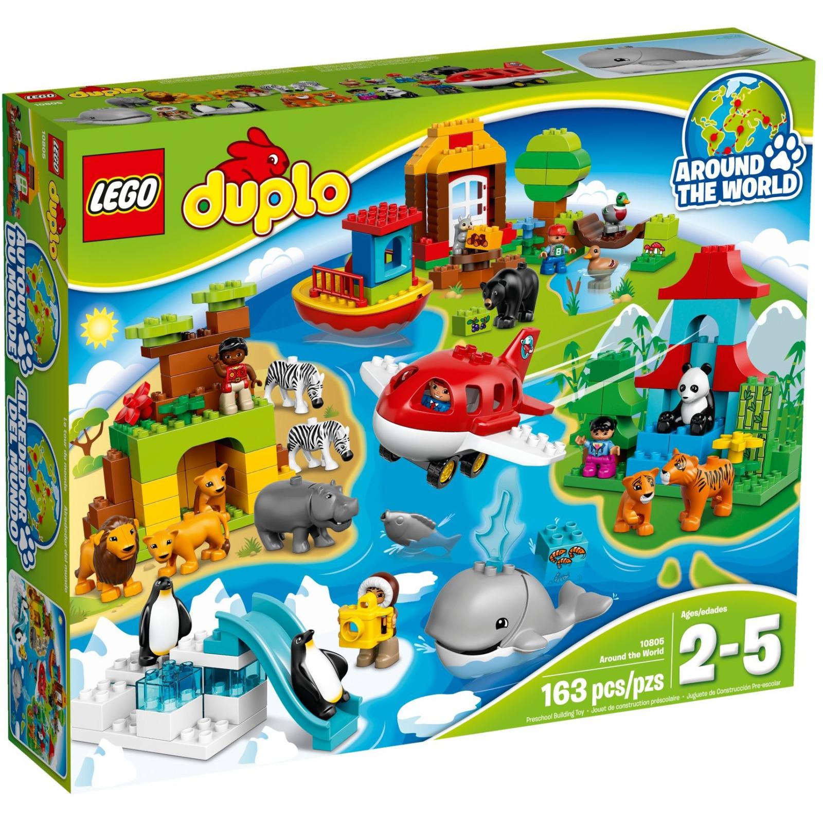 Конструктор LEGO Duplo Town Вокруг света (10805)