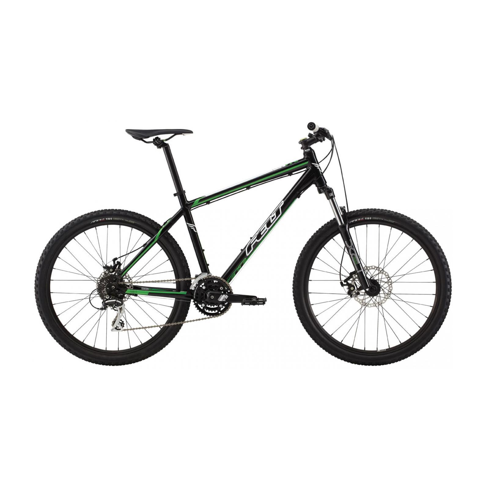 """Велосипед Felt MTB SIX 80 L black (green/white) 20"""" (8044 06801)"""