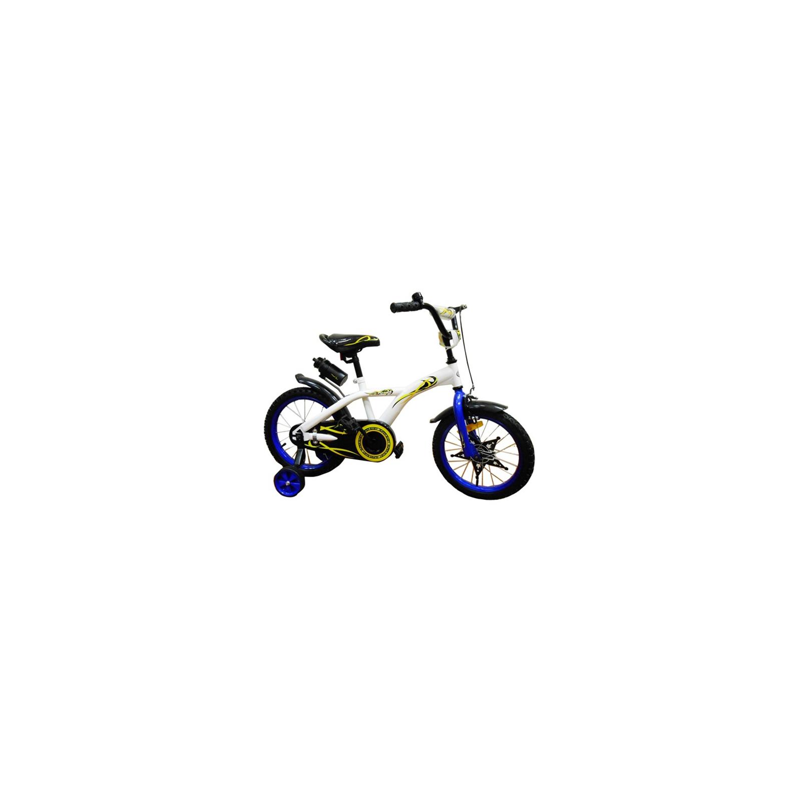 Детский велосипед BabyHit Eagle White with Blue (10176)