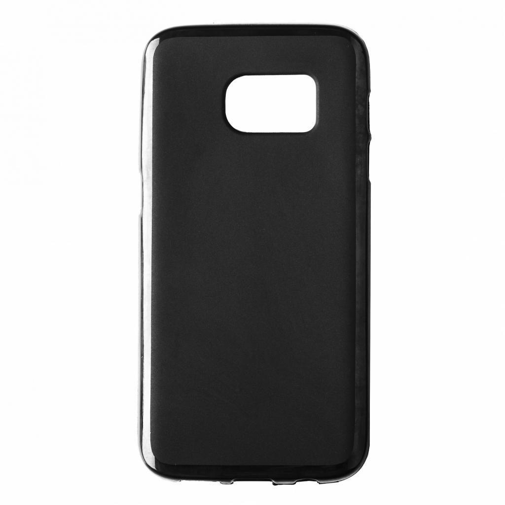 Чехол для моб. телефона Drobak Elastic PU для Samsung Galaxy S7 Duos Black (212906)