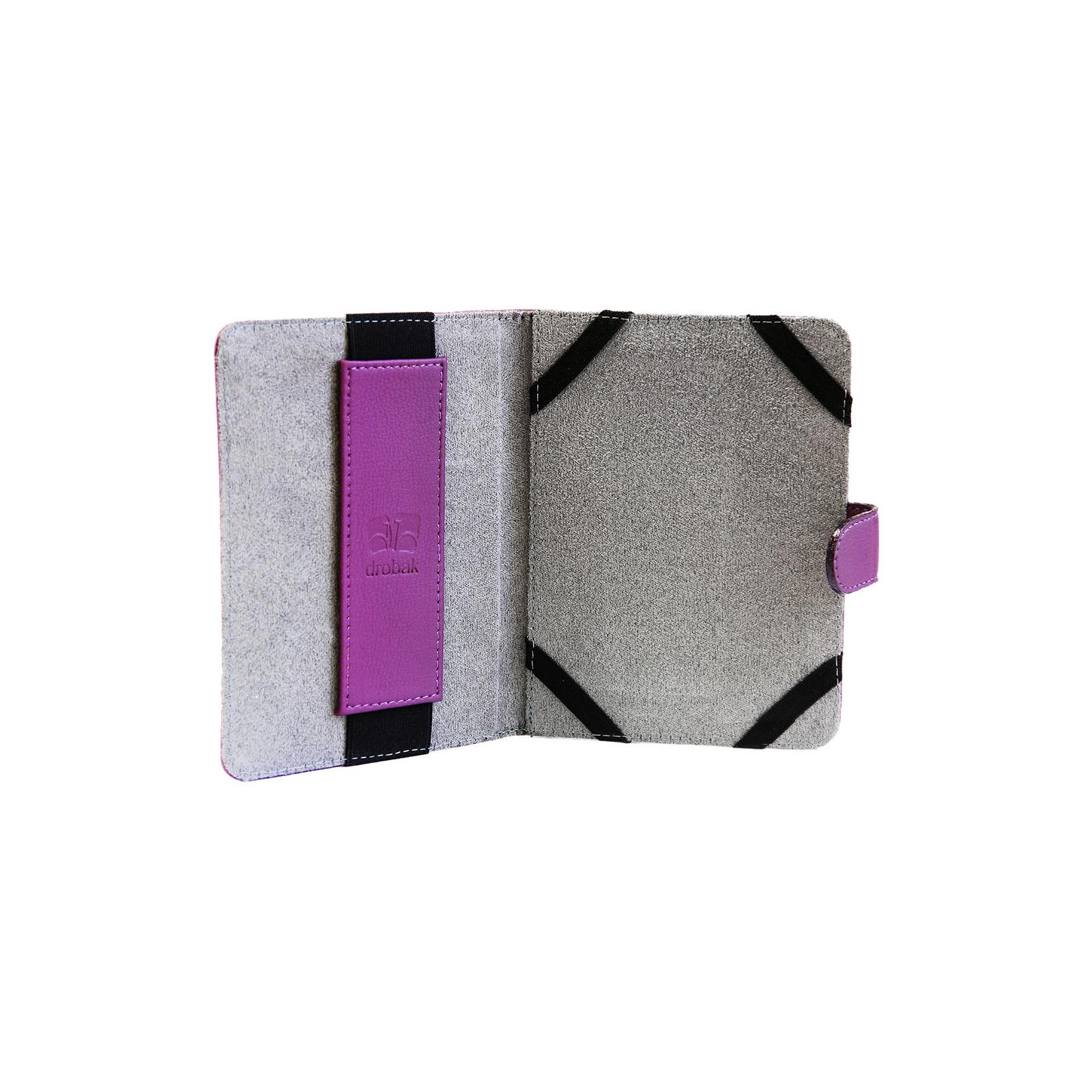 """Чехол для электронной книги Drobak 6"""" Universal Violet (218768) изображение 3"""