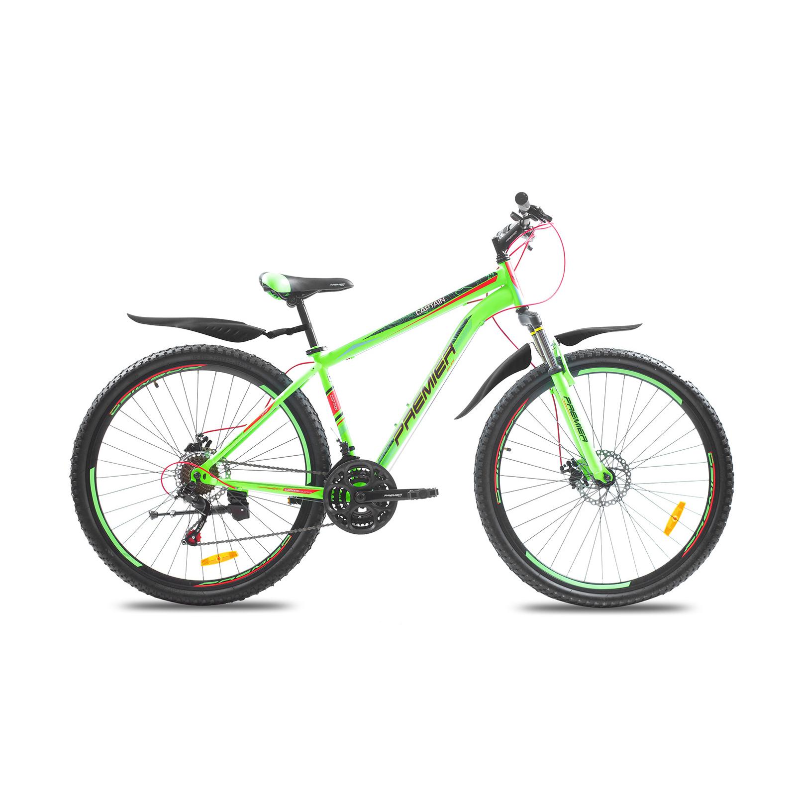 """Велосипед Premier Captain 29 Disc 17"""" neon green (SP0001495)"""
