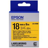 Лента для принтера этикеток EPSON LK5YBW (C53S655010)