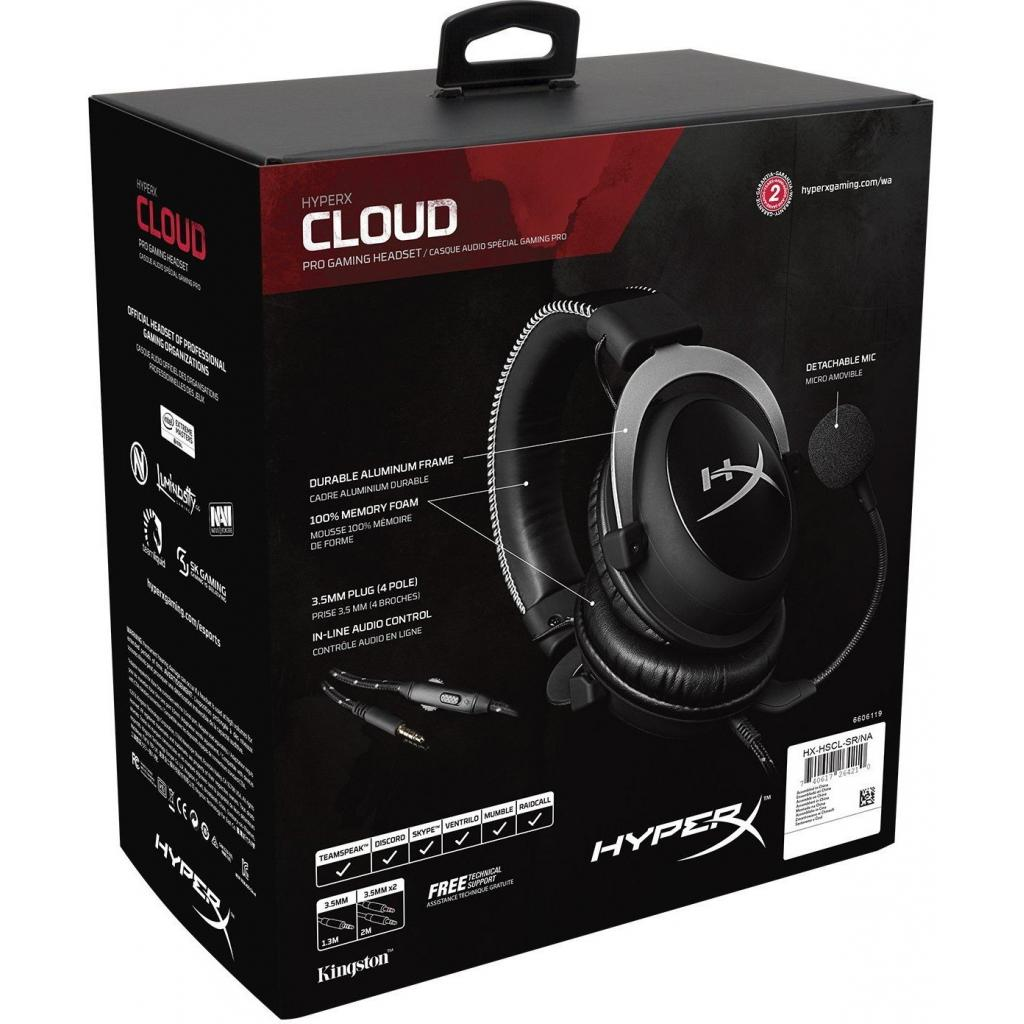 Наушники Kingston HyperX Cloud Pro Gaming Headset Silver (HX-HSCL-SR ... 6d2b4da1b917a