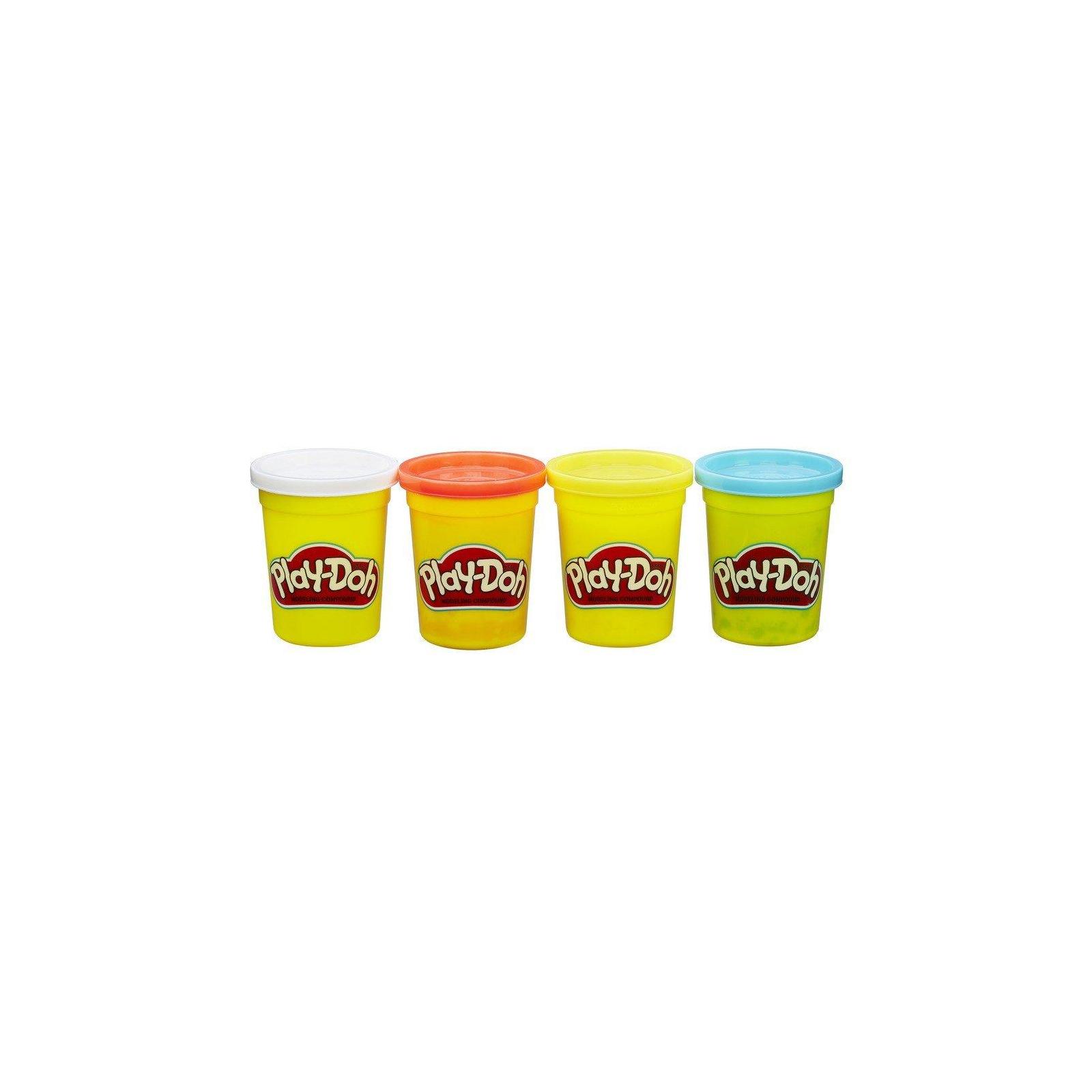 Набор для творчества Hasbro Play-Doh Набор из 4 баночек (B5517_B6508) изображение 2