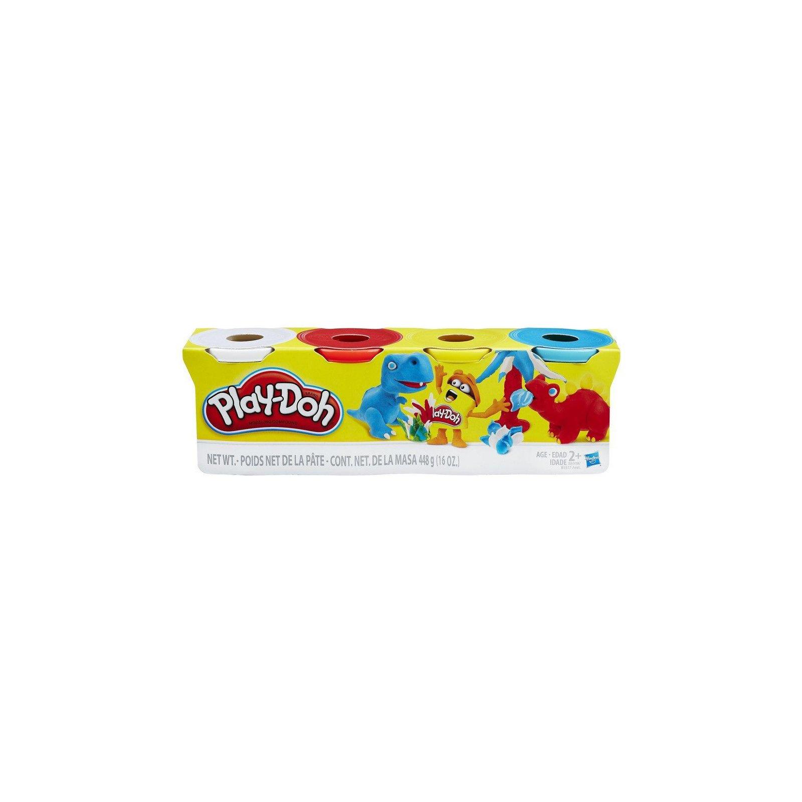 Набор для творчества Hasbro Play-Doh Набор из 4 баночек (B5517_B6508)