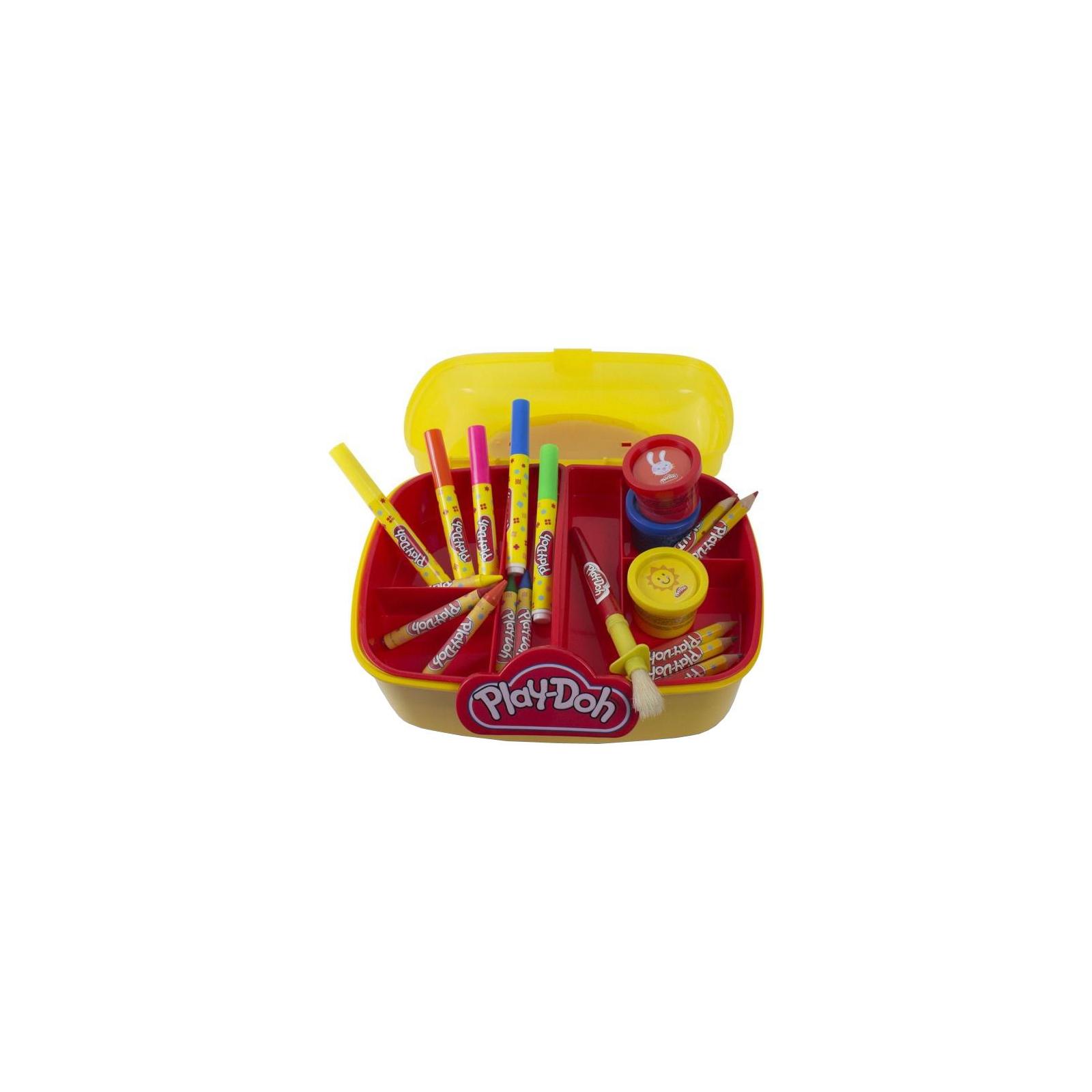 Набор для творчества Hasbro Play-Doh Арт-Саквояж (CPDO013-PE) изображение 2