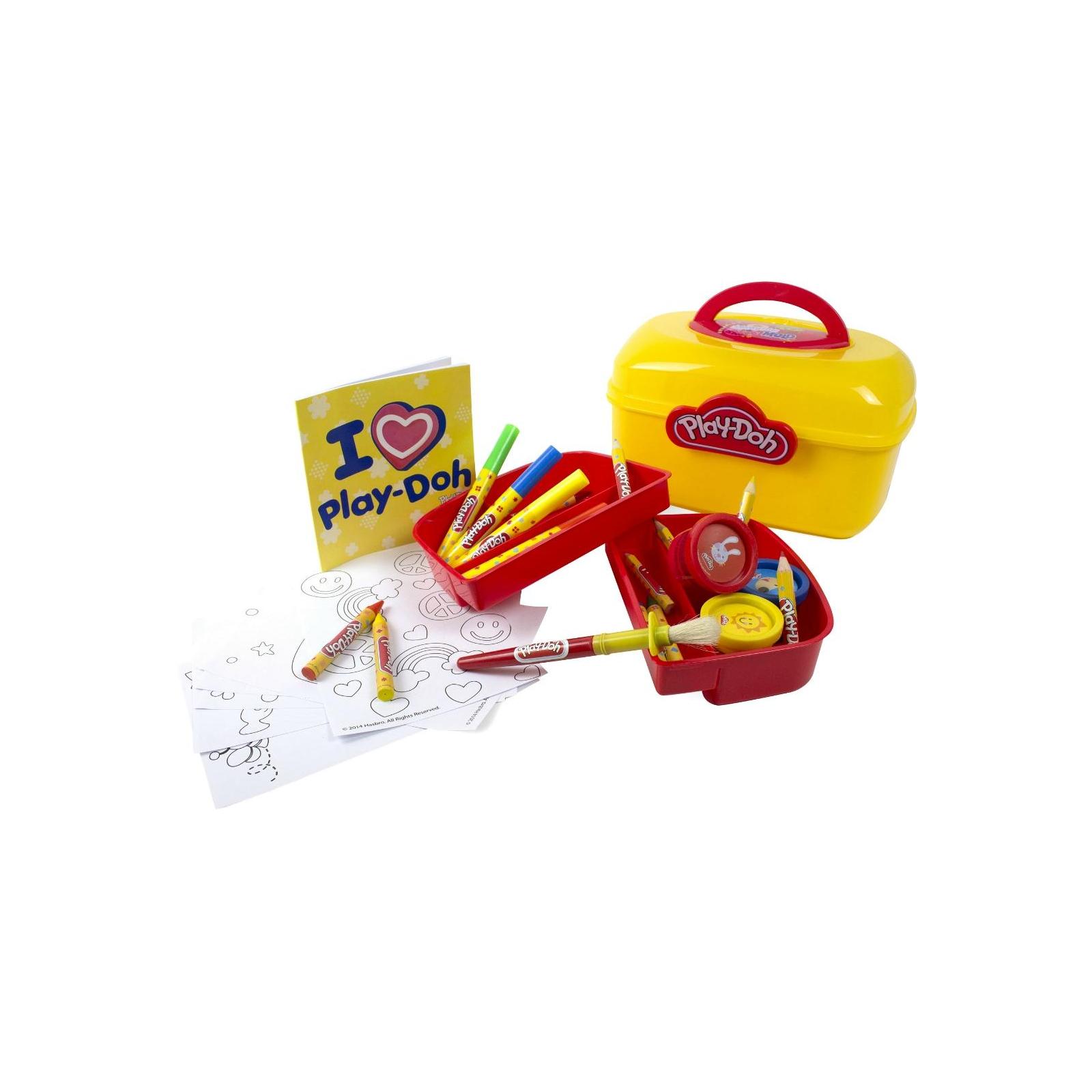 Набор для творчества Hasbro Play-Doh Арт-Саквояж (CPDO013-PE) изображение 3