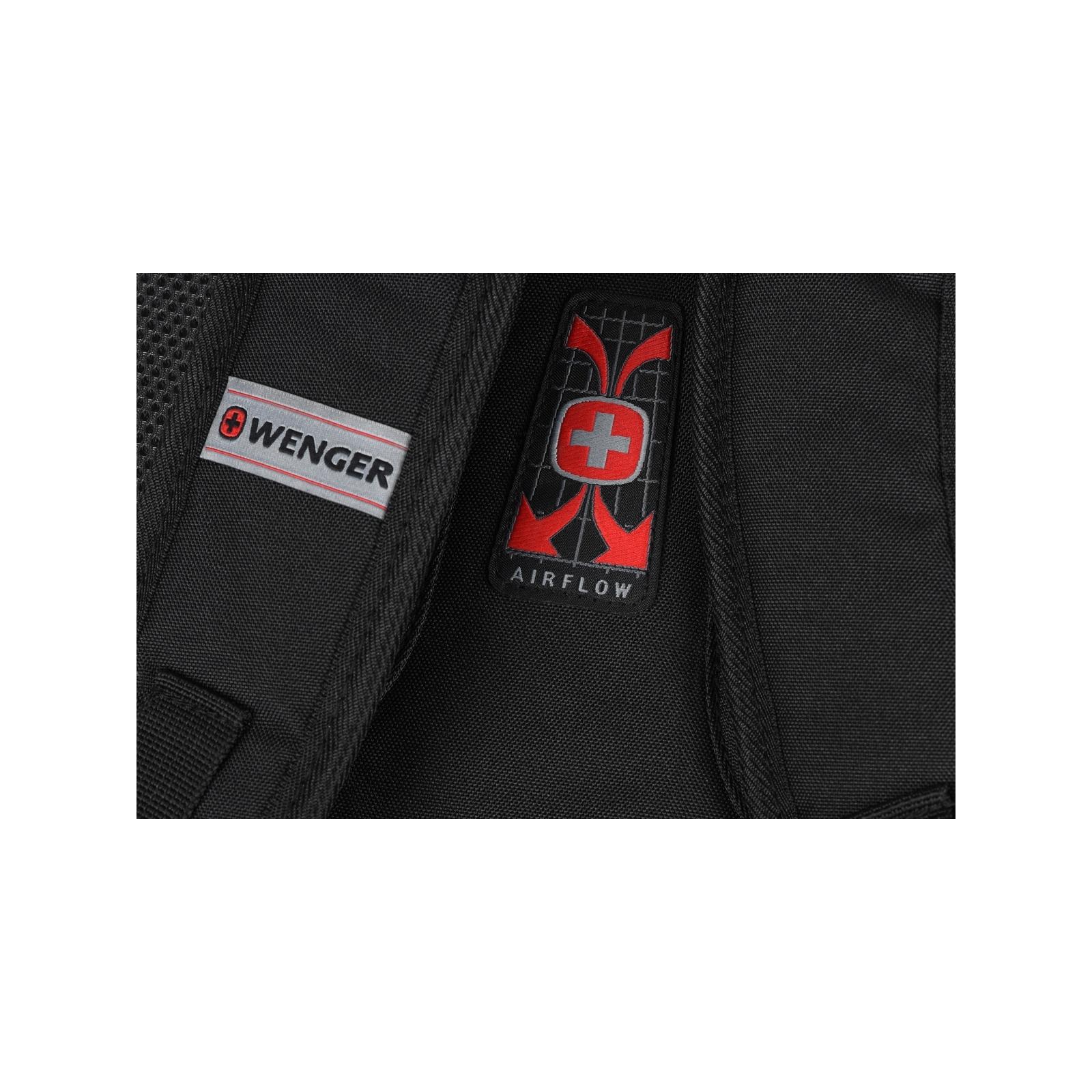 """Рюкзак для ноутбука Wenger 16"""" Mercury Black (604433) изображение 12"""