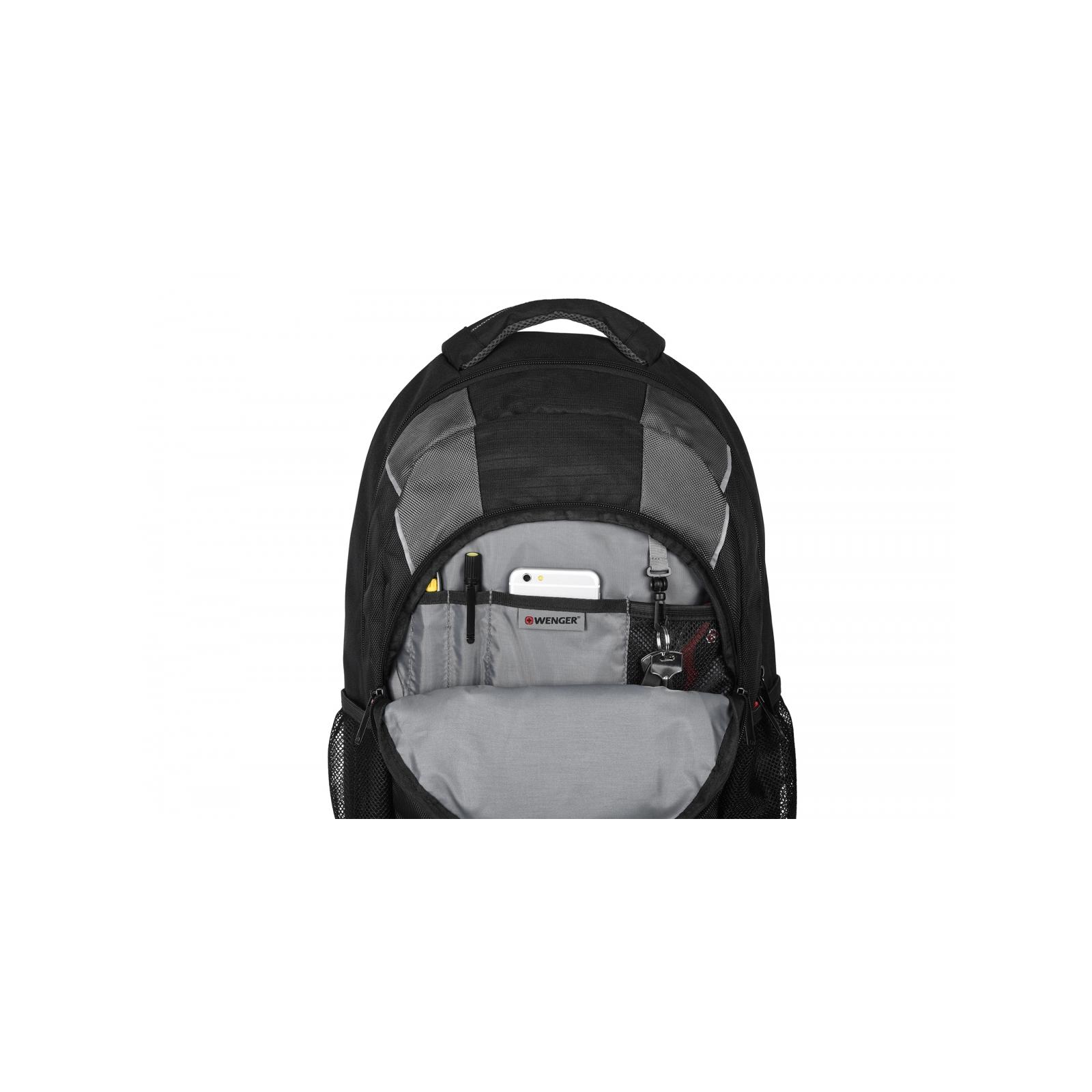"""Рюкзак для ноутбука Wenger 16"""" Mercury Black (604433) изображение 7"""