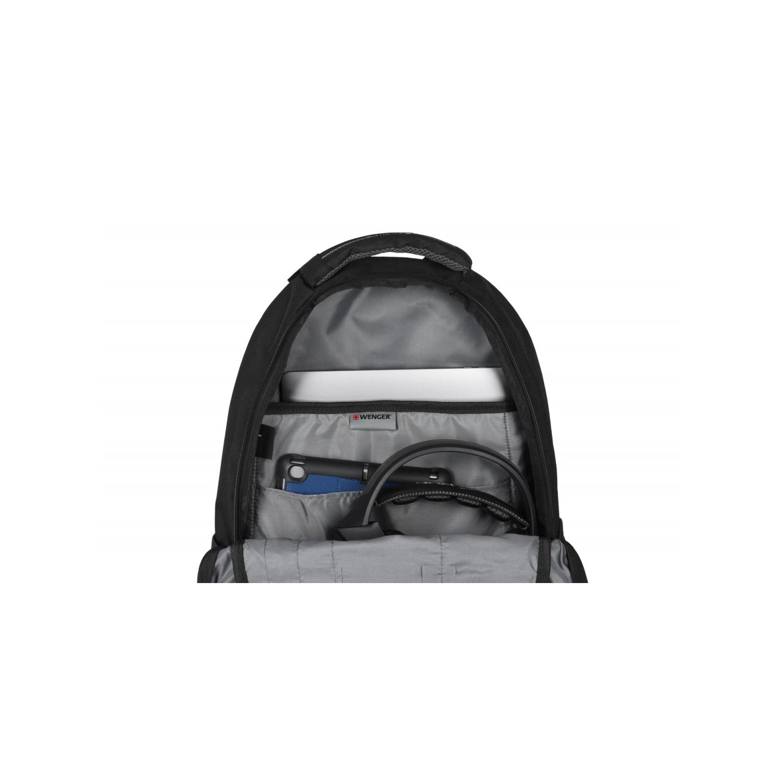 """Рюкзак для ноутбука Wenger 16"""" Mercury Black (604433) изображение 8"""