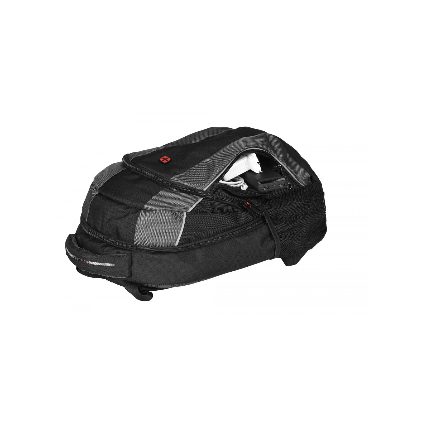 """Рюкзак для ноутбука Wenger 16"""" Mercury Black (604433) изображение 9"""