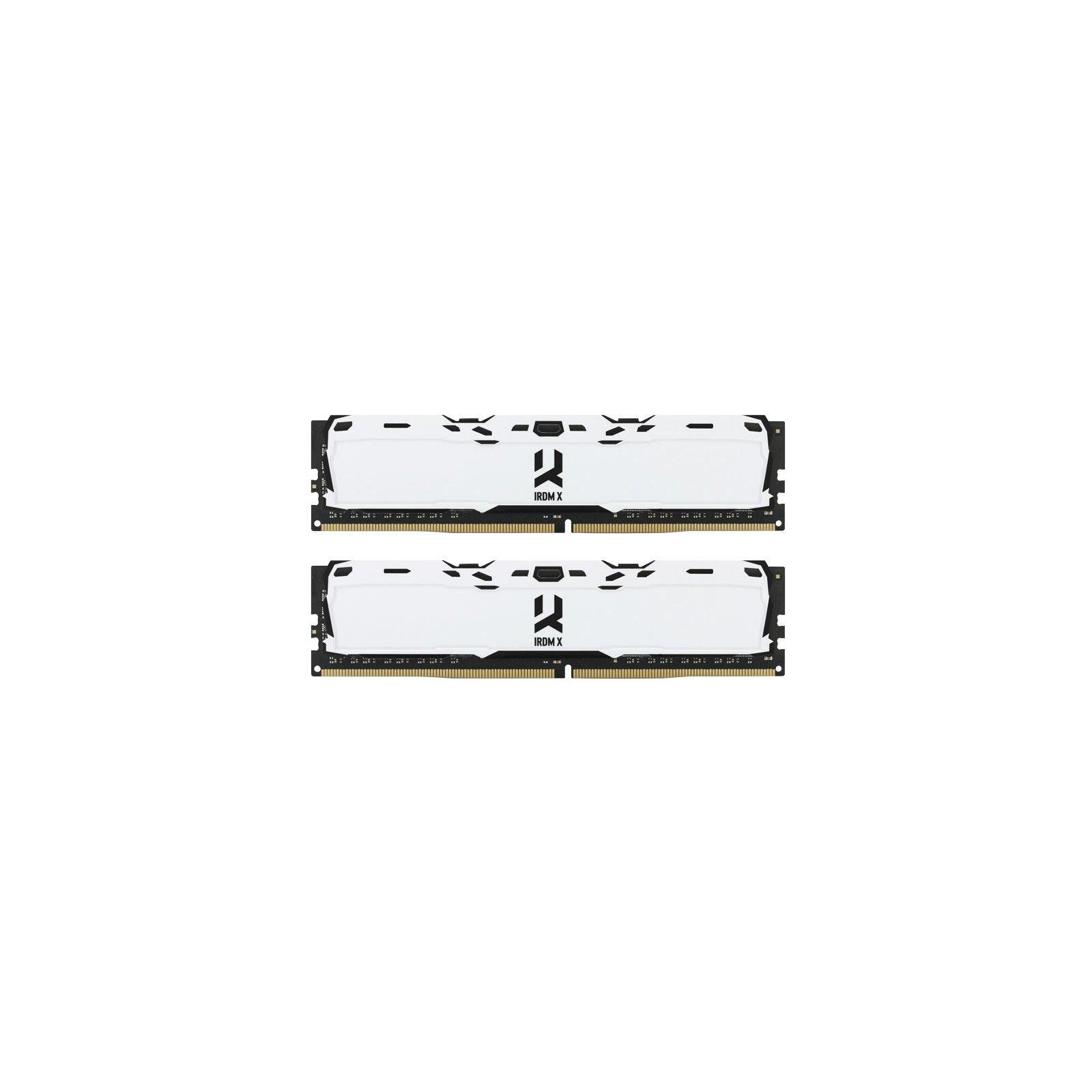 Модуль памяти для компьютера DDR4 16GB (2x8GB) 3000 MHz IRDM White Goodram (IR-XW3000D464L16S/16GDC)