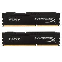 Модуль памяти для компьютера DDR4 16GB (2x8GB) 3200 MHz HyperX FURY Black Kingston (HX432C18FB2K2/16)