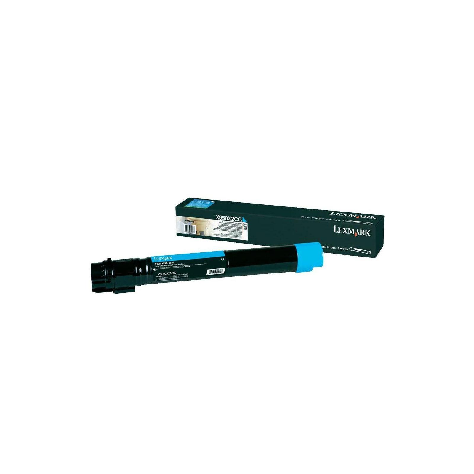 Картридж LEXMARK X95x Cyan (X950X2CG)