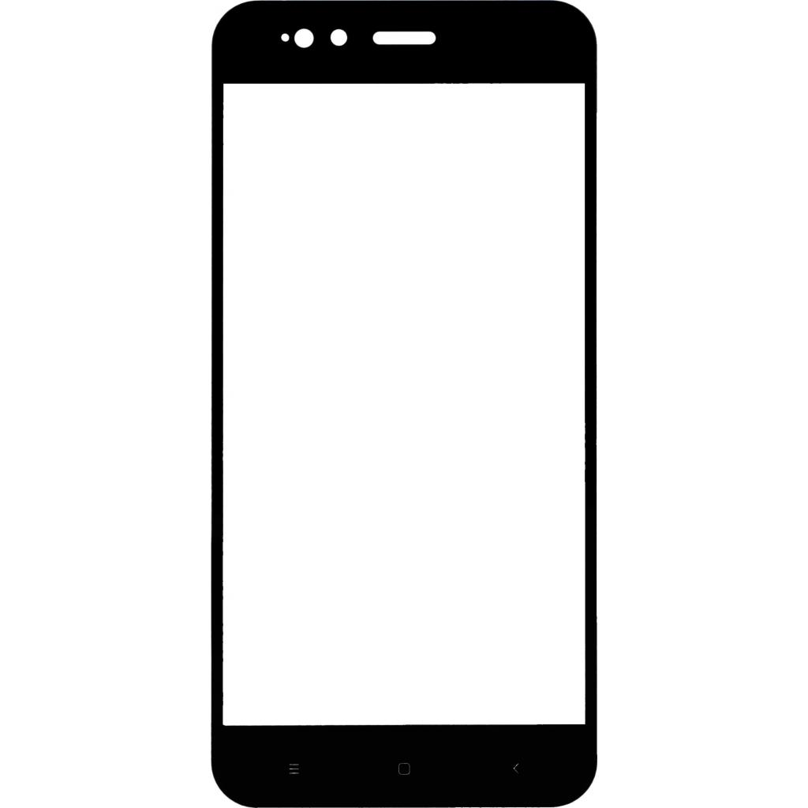 Стекло защитное MakeFuture для Xiaomi MiA1 Black Full Cover Full Glue (MGFCFG-XMA1B) изображение 3