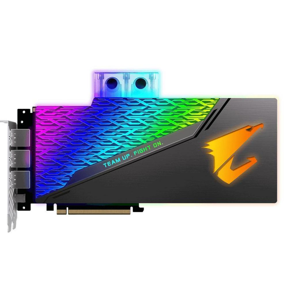 Видеокарта GIGABYTE GeForce RTX2080 8192Mb AORUS XTREME WATERFORCE WB (GV-N2080AORUSX WB-8GC) изображение 3
