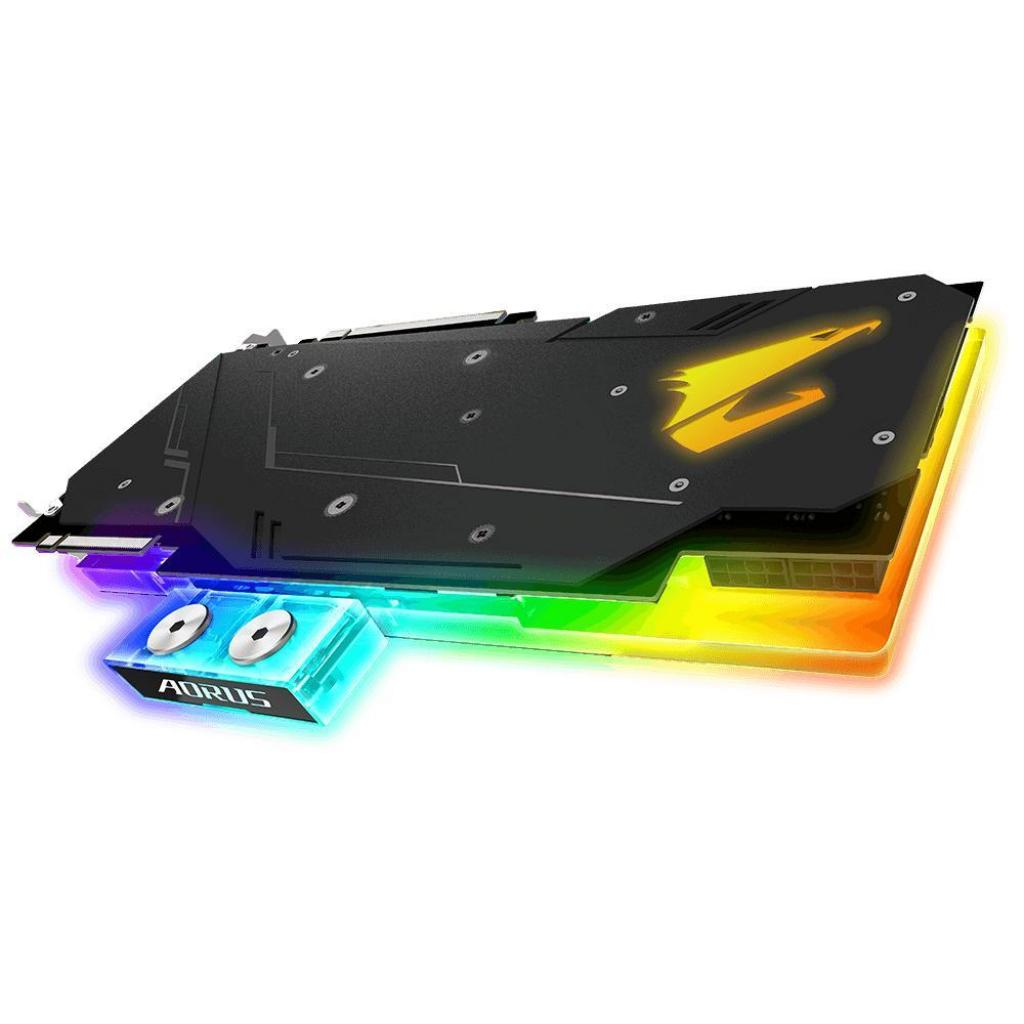 Видеокарта GIGABYTE GeForce RTX2080 8192Mb AORUS XTREME WATERFORCE WB (GV-N2080AORUSX WB-8GC) изображение 4