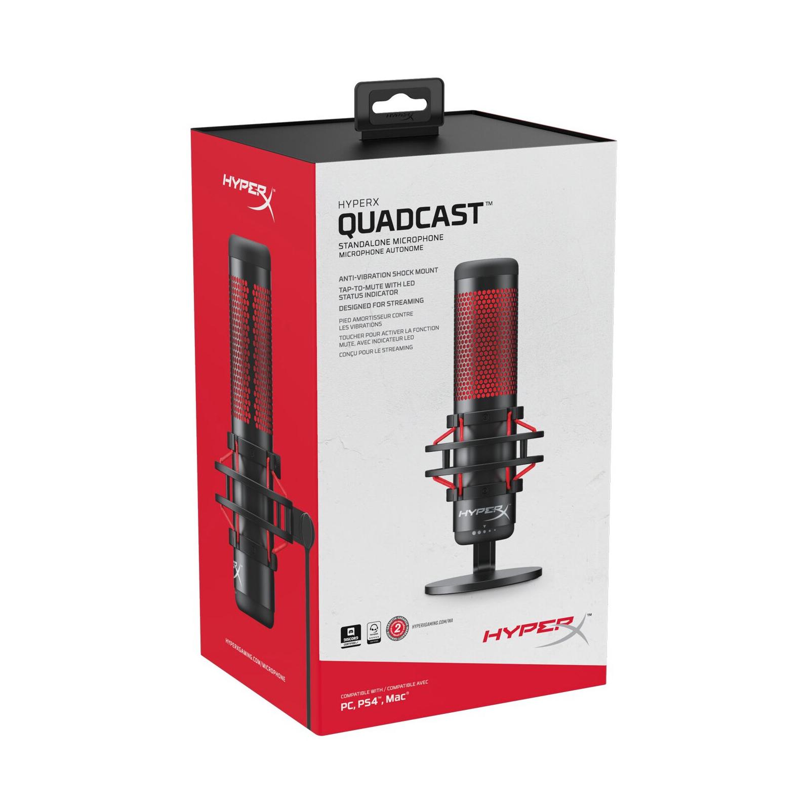 Мікрофон HyperX Quadcast (HX-MICQC-BK) зображення 9